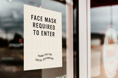Face Mask Required Sign Social Distancing Vinyl Decal | Etsy #socialdistancing #opensigns #reopeningsigns #shopsmall #6feet #smallbusinesssigns #smallbusiness #businessdecals #facemaskrequired #facemaskrecommended #signdesign Open Signs, Sign Design, Vinyl Decals, Signage, Cards Against Humanity, Face, Etsy, The Face, Faces