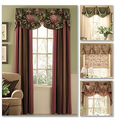 Purchased - Window Treatments - With being newly married and merging two households into one I need to redo everything to match. I am going to be taking classes at the university in upholstery. They offer the first one this winter and I will learn to do chair's and recliners. Then next summer they allow you to bring a sofa and learn to redo it. Once that is done I will be making window treatments. Smile