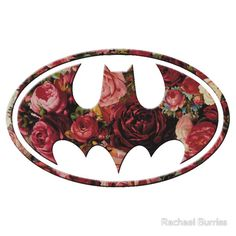 Floral Batman - the fact that this exists someplace outside of my own brain amazes me :)