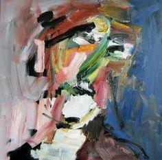 """Saatchi Art Artist Caesar W Radetzky; Painting, """"Kopf"""" #art"""