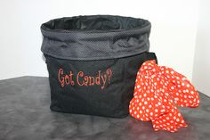 Use the Mini Utility Bin for Halloween Candy or for your favorite sports team! There are so many uses for this handy bin!