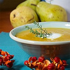 Roasted Squash and Pear Soup