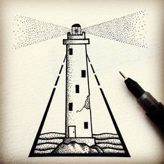 Fresh WTFDotworkTattoo Find Fresh from the Web Little Lighthouse. #11____13…