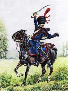 Artigliere a cavallo della guardia imperiale francese