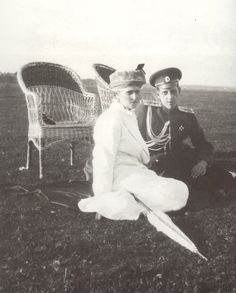 Alexandra Feodorovna & Grand Duke Dimitri Pavlovich - I cannot imagine how hard it must have been for Alix and Nicky when Dmitri, whom they treated as a second son, betrayed them by participating in the murder of Rasputin - awful and heartbreaking