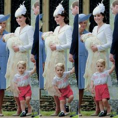 July 5, 2015 - Princess Charlotte's christening