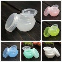 Wish | 10PCS Makeup Empty Jar Pot with Inner Lid Lip Balm Face Cream Sample Container