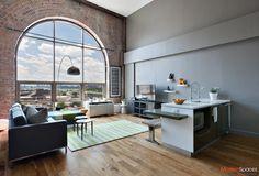 Modern Long Island City Loft in the Powerhouse Asks $1.2M | 6sqft