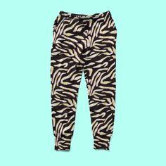 Zebra print chill homewear jogger pant Jogger Pants, Joggers, Sweatpants, Athleisure Outfits, Zebra Print, Mercury, Chill, Street Wear, Pajama Pants