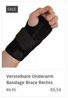 € 6,54 Verstelbare Onderarm Bandage Brace Rechts www.ovstore.nl/nl/verstelbare-onderarm-bandage-brace-rechts.html