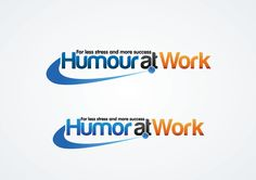 logo for Humor at Work by  One