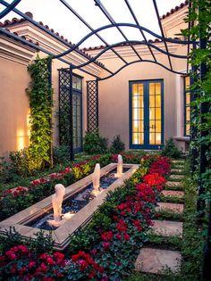 Decorative French Garden Patio Ornament Style - Best Patio Design ...
