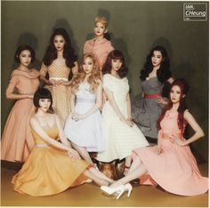 SNSD Lion Heart Album Booklet