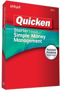 http://pfpins.com/quicken-starter-edition-2011-old-version/ Simple Money Management. Organizes your bank and credit cards in one place. Alerts you to upcoming bills so you can avoid late fees and penalties. Shows where you are spending so you can see where to save.
