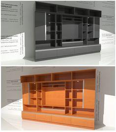 Resultado de imagen para muebles de sala de entretenimiento