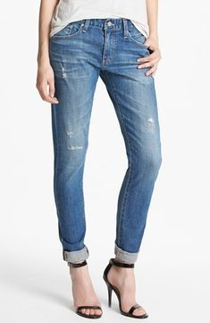 AG Jeans 'Nikki' Slim Boyfriend Jeans in 17 Years Salvation