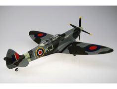 The Bravo Delta Spitfire Double Canopy KJ-I SM520 Scale Model Aircraft is another fine example from this superb wooden aircraft model collection.