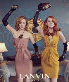 Lanvin W11/12  #lanvin #fashionAds