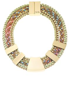 Pastel Gold Mayan Collar | Bex Rox | Avenue32