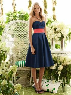 I love this as a bridemaids dress. Its very classy and perfect for an outside wedding.