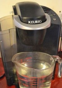 Check out how to fix your Keurig when it quits making full cups! Just clean it! via AFewShortCuts.com