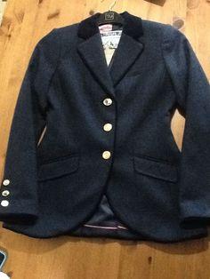 Joules Ladies Parade Blazer. BNWT. Size 10. Navy Chevron. Christmas Present?