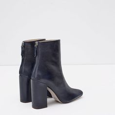 hello, you could not be more perfect. Pumps, Pump Shoes, High Heel Boots, Heeled Boots, Zara, Grunge Boots, Block Heel Shoes, Fall Shoes, Crazy Shoes