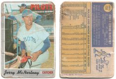 pobc: 1970 Topps Jerry McNerty
