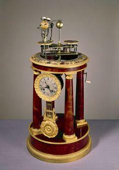 Raingo orrery clock, French, 1830-1832.