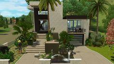 The Sims 3 House Building - Moderna Villa | DutchSims 3 Master