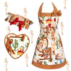 I could have used this BBQ Scottsdale style!...Fab.com   Vintage-Inspired Kitchen Wear