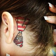 Where's Waldo? | 50 Incredible Tattoos Inspired By Books From Childhood