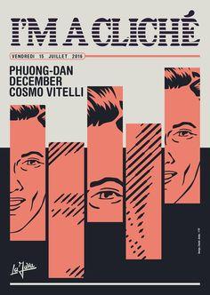 RA: I'm A Cliché with Phuong-Dan, December & Cosmo Vitelli at Java, La, Paris