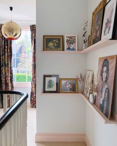 Best Absolutely Free Eclectic Decor hallway Ideas A strong diverse strategy to d .Best Absolutely Free Eclectic Decor hallway Ideas A strong diverse strategy to d . Pink Hallway, Hallway Walls, Hallway Paint, Ikea Picture Ledge, Picture Shelves, Upstairs Landing, Upstairs Hallway, Hallway Pictures, Hallway Ideas