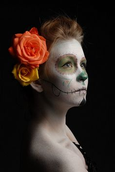 Day of the Dead - Helen 1 by *Rob*, via Flickr