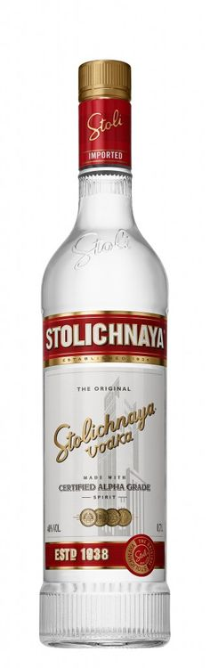 Stolichnaya unveils first bottle redesign in its 75-year history