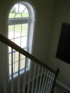 Oversized Window on the staircase