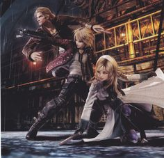 Resonance of Fate for PS3. The RPG tactical aspects of the game are hard to learn, but I love the art.