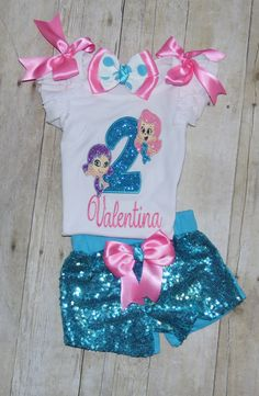 Check out this item in my Etsy shop https://www.etsy.com/listing/455783590/bubble-guppies-birthday-outfit-bubble