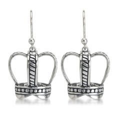 Crown Earrings  http://silverelementscollection.com/collection/crown-earrings