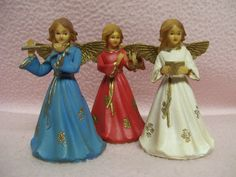 Vintage Angel Trio Hong Kong Angel Musicians by FabVintageEstates