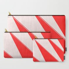 Askewed Triangles Carry-All Pouch