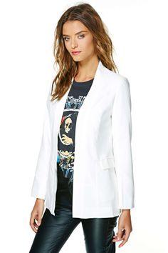 Janice Blazer   Shop Jackets + Coats at Nasty Gal