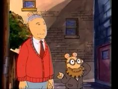 """Arthur episode, """"Arthur Meets Mr. Rogers"". One of my favourites. So funny and, in my opinion, one of the show's best."