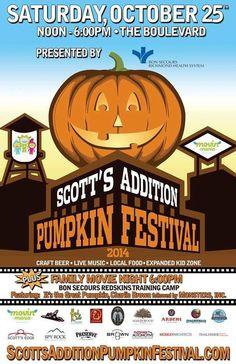 Two Boulevard Pumpkin Festivals?