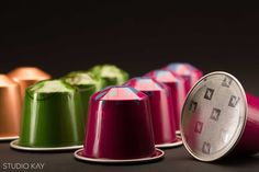 Nespresso coffee commercial and product photography by studio kay