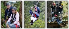 Alaska Canopy Adventures - long ziplines, sky bridges & great guides - Juneau & Ketchikan