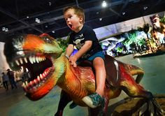 Jurassic Quest brings 80 life-size animatronic dinosaurs to the Peoria Civic Center.
