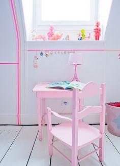 dcoracao.com - blog de decoração: Washi tape (decotape) II - Quartos de criança