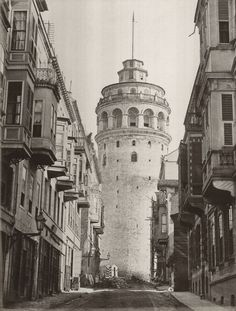 galata, istanbul - old times
